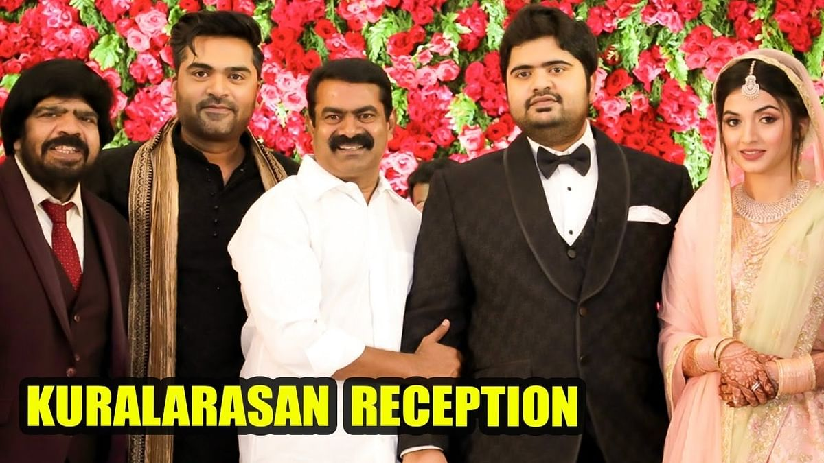 Seeman, Sivakarthikeyan & Kollywood Celebs at Kuralarasan Reception | Simbu | T.Rajendran