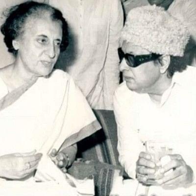 எம்.ஜி.ஆர் - இந்திரா காந்தி