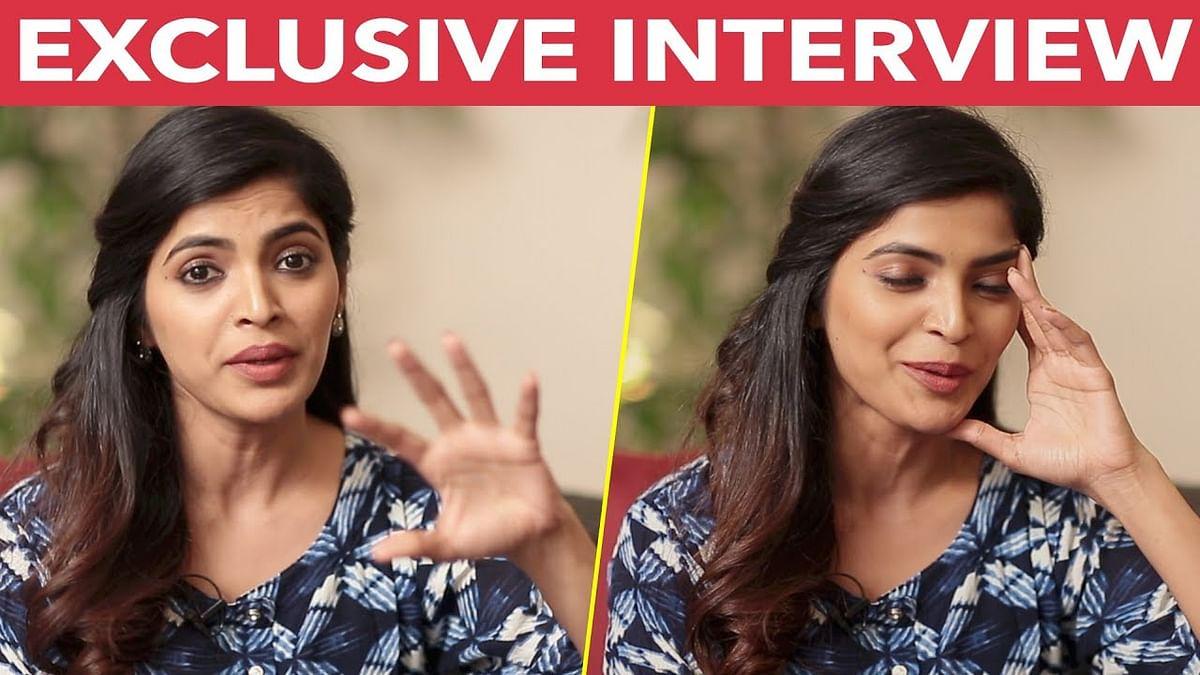 Please!!! Intha Interview la Solla Sollathinga - Sanchitha Shetty   Party