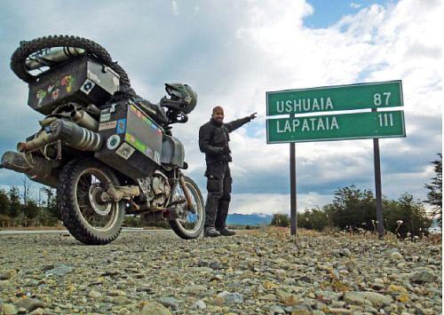 94,933 கி.மீ... 1,134 நாட்கள்... 32 நாடுகள்!
