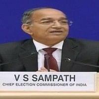 தேர்தல் அதிகாரிகள் ஒருதலைப்பட்சமாக செயல்படக் கூடாது : தேர்தல் ஆணையர் சம்பத்