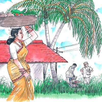 மரத்தடி மாநாடு: திராட்சைக்கு  மூடாக்கு அவசியம்!