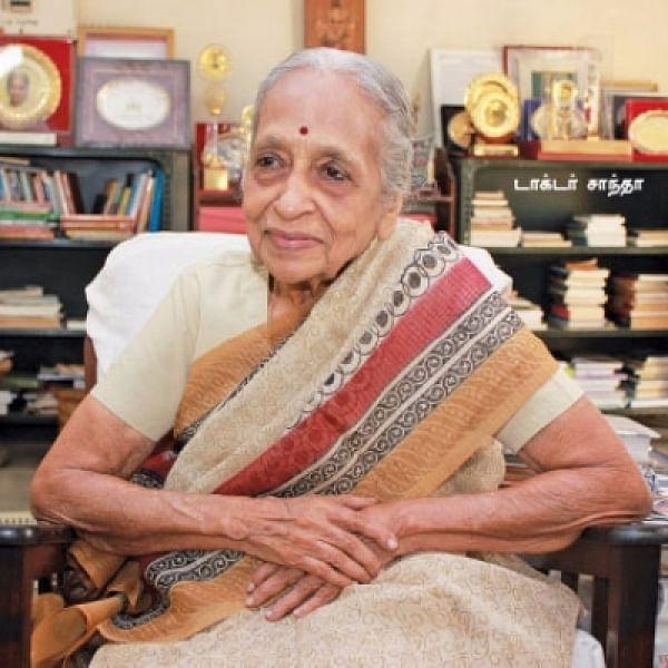 ''90 வயசுதான்... சாதிக்க வேண்டியது இன்னும் நிறையதான்!'' - நெகிழ்கிறார் டாக்டர் சாந்தா #CelebrateWomen #VikatanExclusive