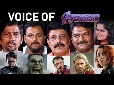 அவெஞ்சர்ஸுக்கு டப்பிங் பண்ண நாங்க பட்ட கஷ்டம்! | Avengers Endgame
