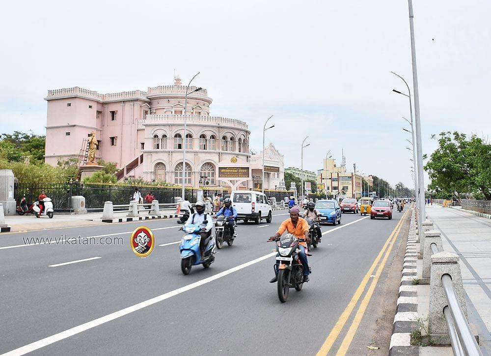 சென்னையின் நூற்றாண்டு வரலாற்றை தாங்கி நிற்கும் கட்டடங்கள்..! அன்றும் இன்றும் - சிறப்பு புகைப்படத்தொகுப்பு #madrasday