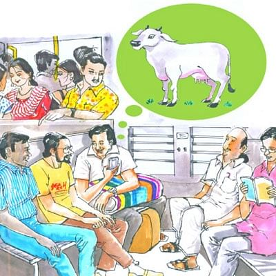 மண்புழு மன்னாரு: மாடு வளர்ப்பும் 'ஸ்டார்ட் அப்'தான்!