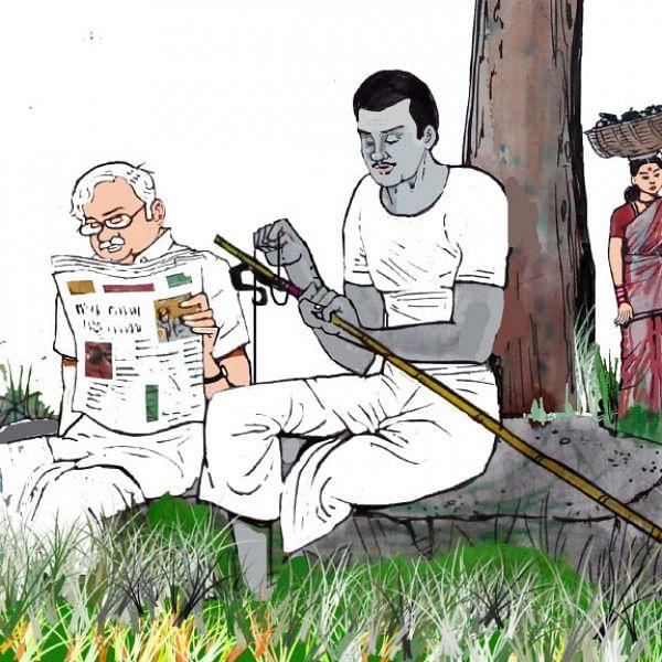 மரத்தடி மாநாடு: ஏக்கருக்கு  9 ரூபாய் இழப்பீடு... - கொதிப்பில் விவசாயிகள்!