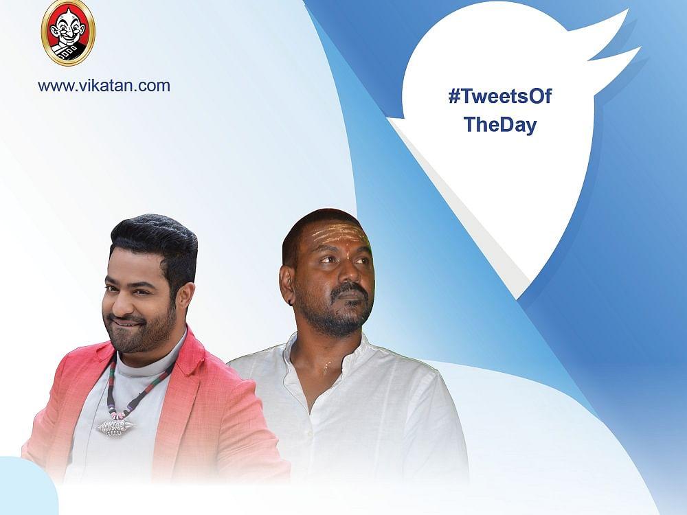 'டைகர்' ஜூனியர் என்.டி.ஆர் ; வருத்தத்தில் ராகவா லாரன்ஸ்! #TweetsOfTheDay