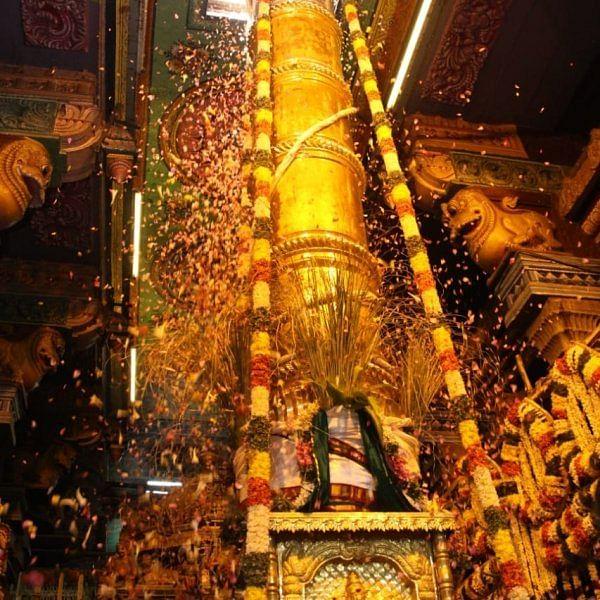 கொடியேற்றத்துடன் தொடங்கியது, மதுரை சித்திரைத் திருவிழா!
