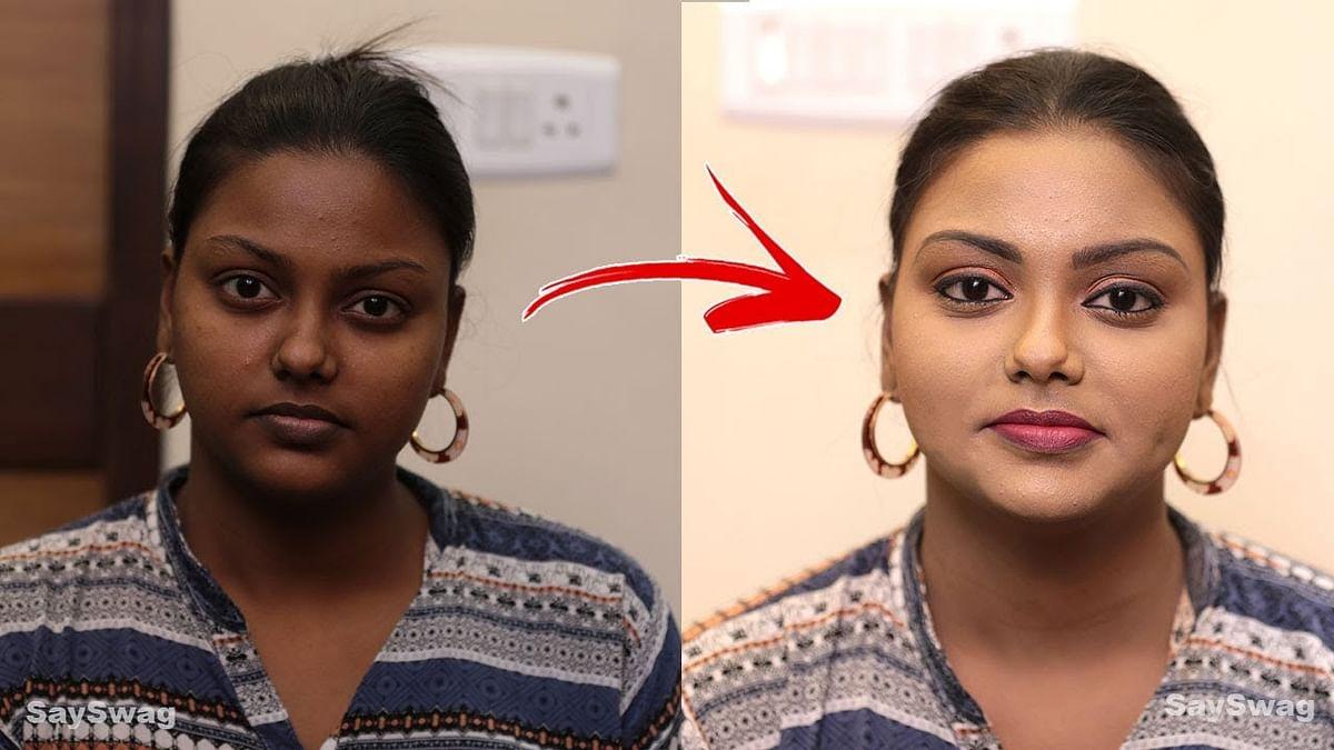 எளிதாக சிவப்பழகு பெறுவது எப்படி ? | Face Whitening Make Over Tamil | Say Swag
