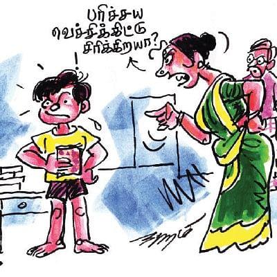 சிரிப்பு வெடி!