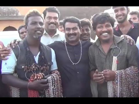 "A Day With ""Naam Tamilar Katchi "" Leader Seeman