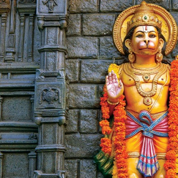 அர்ஜுனனைக் காத்த அனுமந்த கொடி!