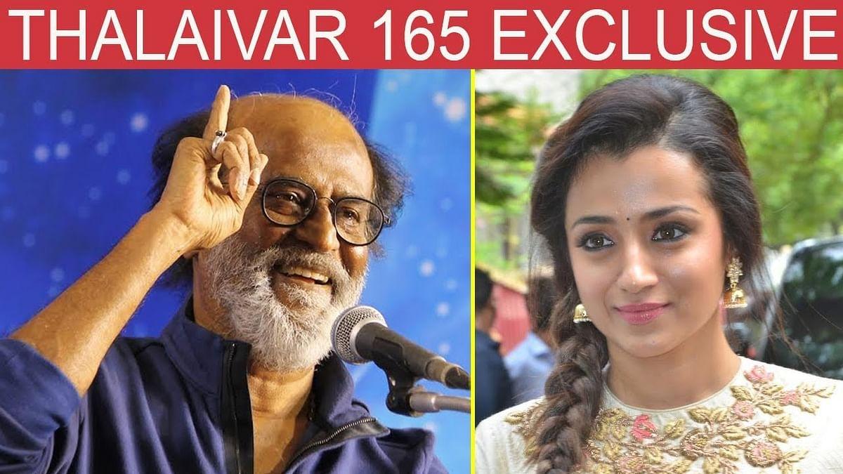 NEW JODI: Rajini to Romance Trisha | Latest Updates Thalaivar 165