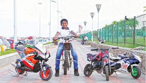 செம ஸ்டைல் சின்ன பைக்!
