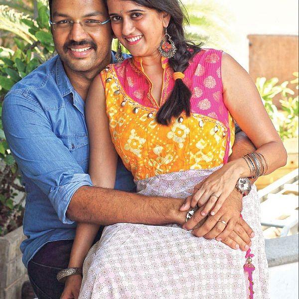 """அமித் பார்கவ் - ஸ்ரீரஞ்சனி - """"எனக்கு அவர் 'புரூம்ஸ்' நான் ரோபோ!"""""""