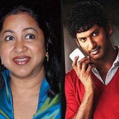 விஷாலை மனதில் வைத்து இளம் நடிகர்களுக்கு நடிகை ராதிகா அறிவுரை!