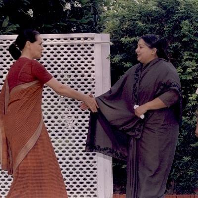 சோனியா காந்தி, ஜெயலலிதா