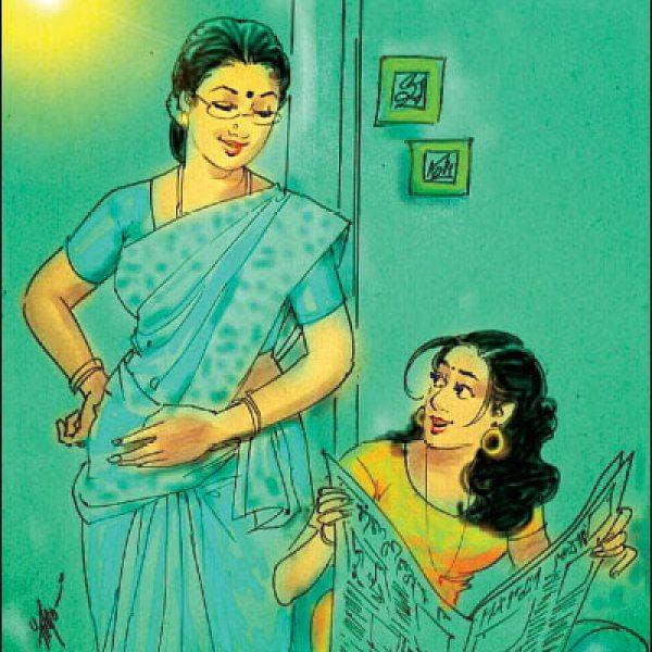மனுஷி -  சீதை, திரெளபதி கதை கேட்பதால் என்ன பயன்?