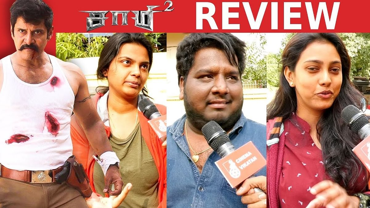 Saamy 2 Review FDFS   Vikram   Keerthy Suresh