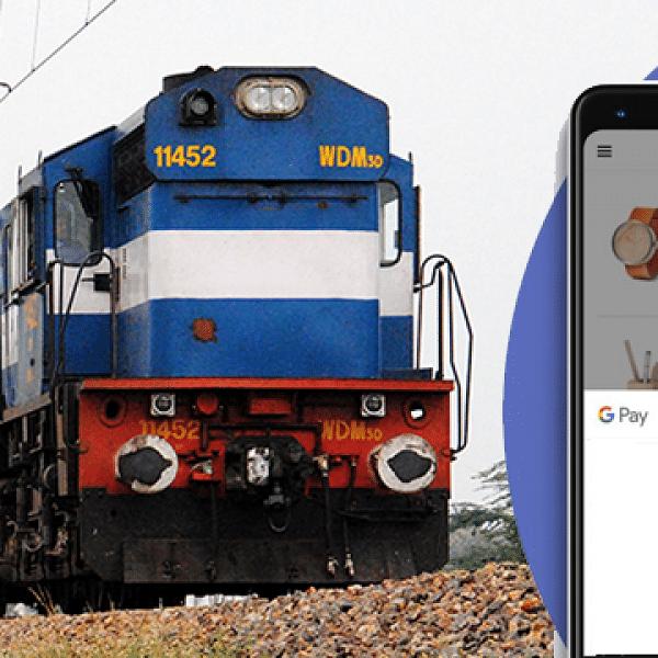 `இனி எங்கள் ஆப் மூலம் ரயில் டிக்கெட் புக் செய்யலாம்!' - #GooglePay-ன் புதிய முயற்சி