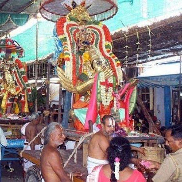 சாரங்கபாணி கோயிலில் மகர ஸங்கரமண உற்சவம்...10-ம் தேதி கருடசேவை!