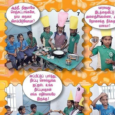 அஞ்சு நிமிஷத்தில் செஃப் ஆகலாம்!