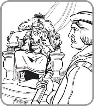 மகிழ்ச்சியுடன் வாழ்பவர் யார்?