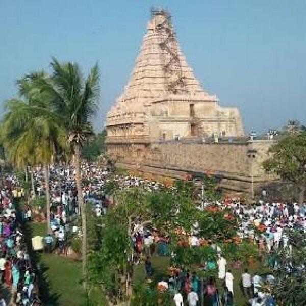 அன்னாபிஷேகத்தால் விழாக்கோலமான கங்கை கொண்ட சோழபுரம்!