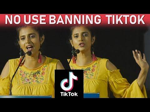 Kasthuri on Banning Tik Tok & its positives
