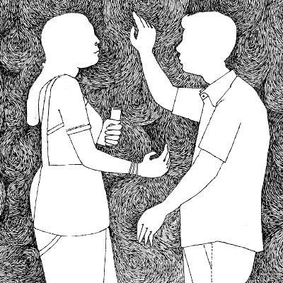பெண் காது - நரன்