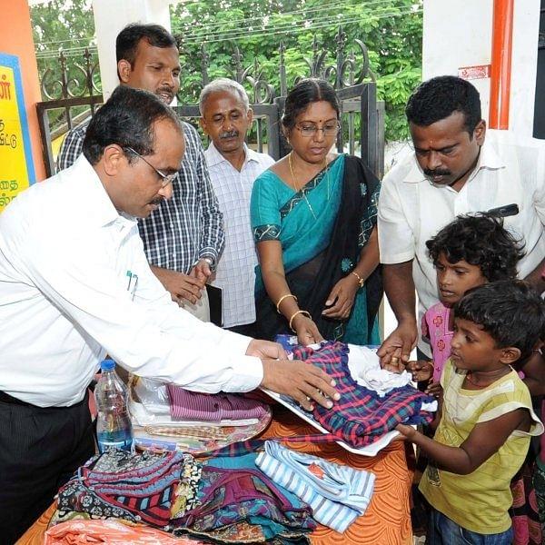 அன்புக் கரங்கள் தன்னார்வ அமைப்பைத் தொடங்கிவைத்த மாவட்ட ஆட்சியர்!