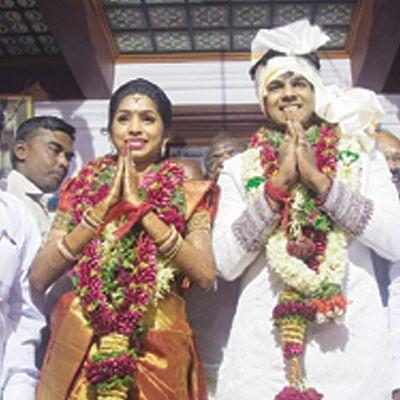 பிரமாண்ட திருமணம்