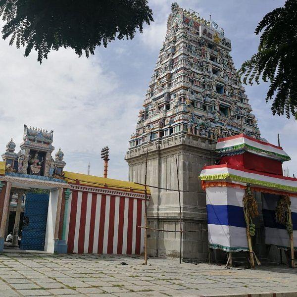 காங்கிரீட் காடான கோயம்பேட்டுக்குள் மறைந்திருக்கும் 800 ஆண்டு சோழர் பொக்கிஷம்!
