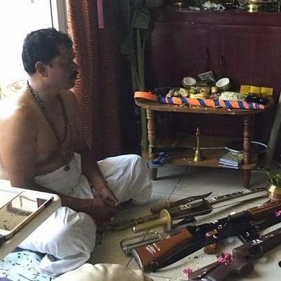 'இதே 'ஆயுத' பூஜையை அடுத்த ஆண்டும் செய்வேன்!' -அர்ஜுன் சம்பத்