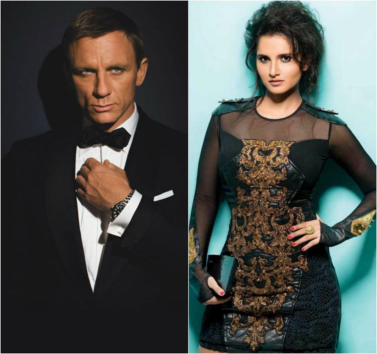 007 படத்தில் சானியா மிர்சா!