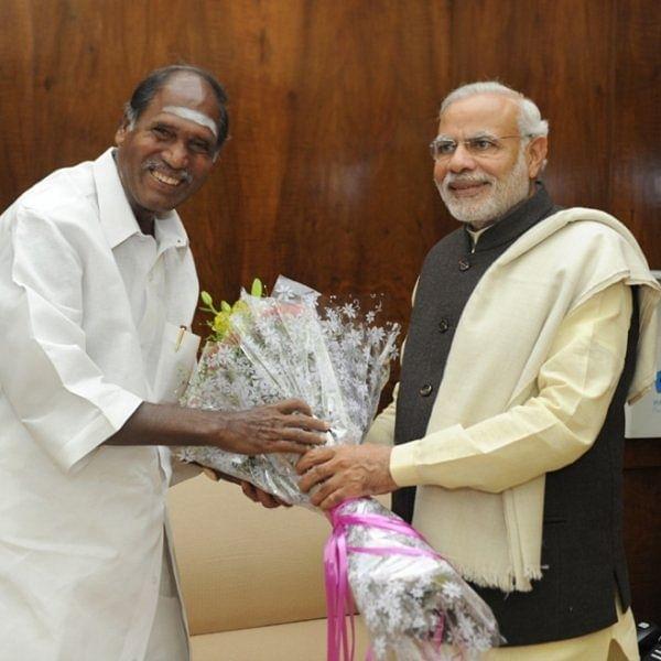 பிரதமர் மோடியுடன் ரங்கசாமி
