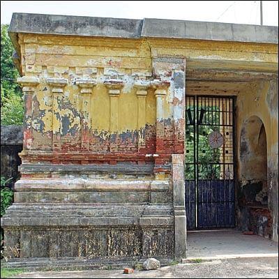 நாரதர் உலா: பரிதாப நிலையில் கோட்டைக் கோயில்!
