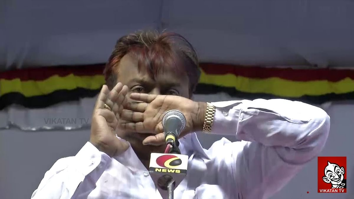 Whose Downfall is happening, Jayalalitha's or mine ? - Furious Vijaykanth