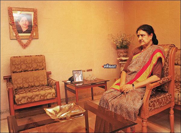 """ஜெ. மரணம்... - """"விசாரணை கமிஷனை சந்திக்கத் தயார்!"""" - சசிகலா சவால் பேட்டி"""