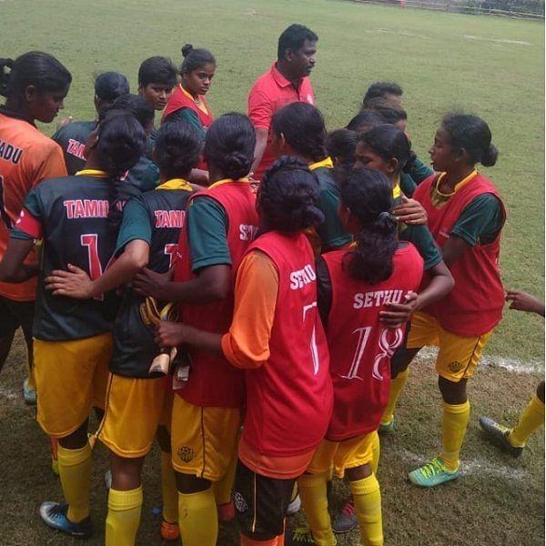 `13 - 0'.. சண்டிகரை நொறுக்கிய தமிழகப் பெண்கள் கால்பந்து அணி!