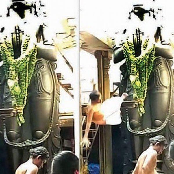 இரண்டு நாள்களில் 15 லட்சம்! - நாமக்கல்லில் இறந்த அர்ச்சகர் பெயரில் நிதி திரட்டி மோசடி?