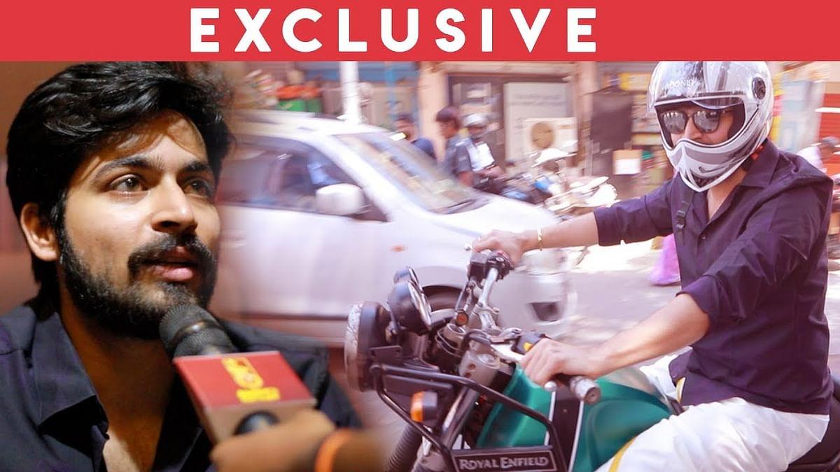 Bike Ride Experience : Harish Kalyan Reveals the Reason   Ispade Rajavum Idhaya Raniyum