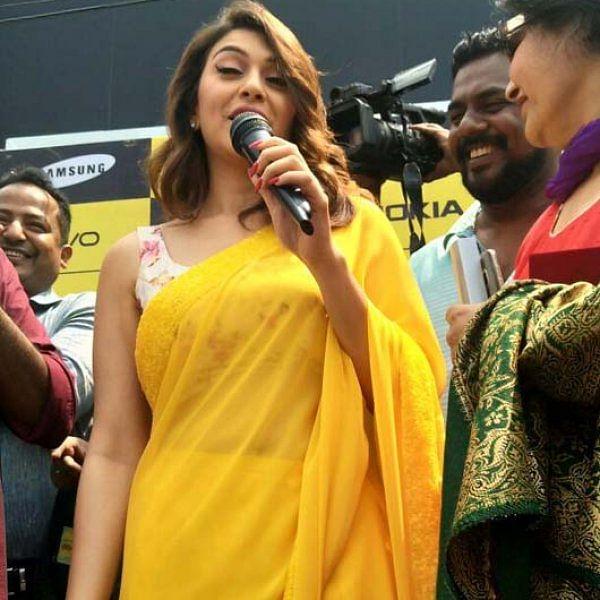 ஈரோட்டில் கடை திறப்புவிழாவில் கலந்துகொண்ட நடிகை ஹன்சிகா மோத்வானி..! படங்கள் - ரமேஷ் கந்தசாமி