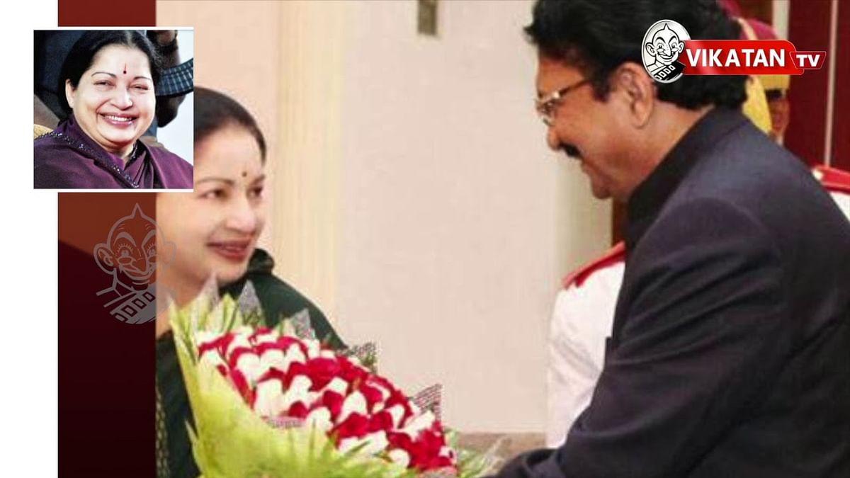 Governor Vidyasagar visits Jayalalitha at Apollo Hospital