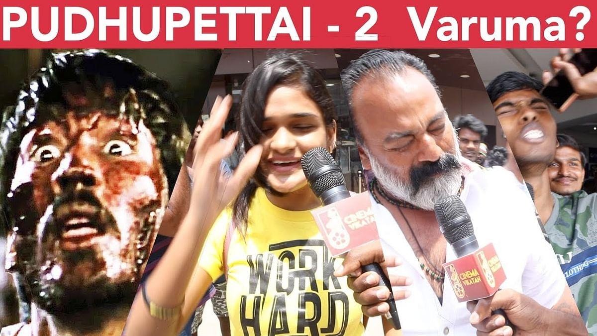Apoo PURILA Ipoo PURITHU - Pudhupettai Goosebumps Public Opinion | Dhanush | Selvaraghavan | Yuvan