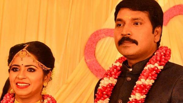 Madhumitha with husband