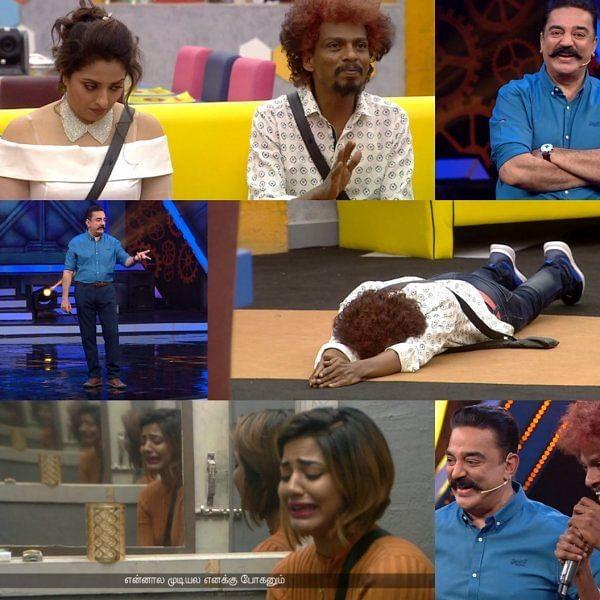 ஐஸ்வர்யாவுக்கும் சென்றாயனுக்கும் நடந்தது நியாயமே இல்லை பிக்பாஸ்! #BiggBossTamil2
