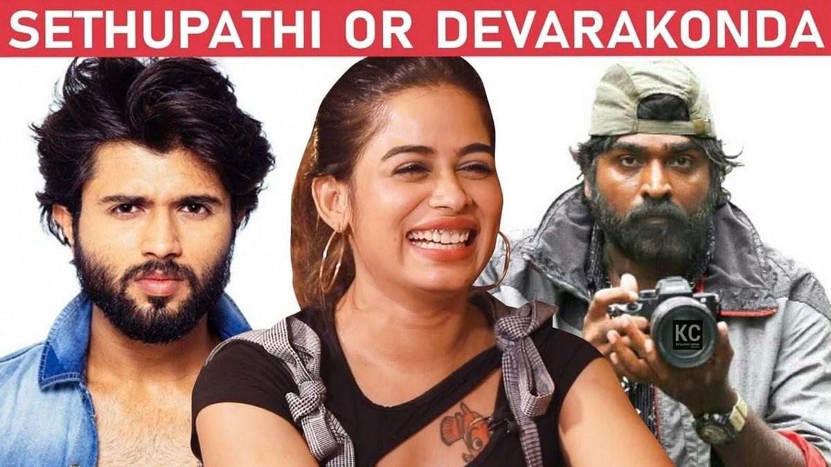 விஜய் சேதுபதி பாதி; விஜய் தேவரகொண்டா பாதி! - Priyanka Ruth | Gangs of Madras
