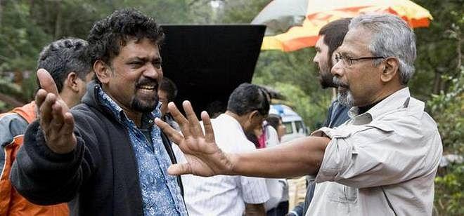 Mani Ratnam during shoot